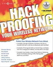 Hackproofing Your Wireless Network ebook by Syngress