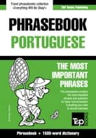 English-Portuguese phrasebook and 1500-word dictionary ebook by Andrey Taranov