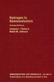 Hydrogen in Semiconductors: Hydrogen in Silicon ebook by Kobo.Web.Store.Products.Fields.ContributorFieldViewModel