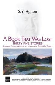 A Book That Was Lost - 35 Stories ebook by S.Y. Agnon