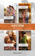 Western Box Set 1-4 June 2020/The Texan's Baby Bombshell/The Cowboy's Claim/Enchanted by the Rodeo Queen/Last Chance Cowboy ebook by