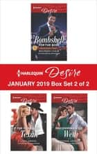 Harlequin Desire January 2019 - Box Set 2 of 2 - An Anthology ebook by Maureen Child, Sara Orwig, Yvonne Lindsay