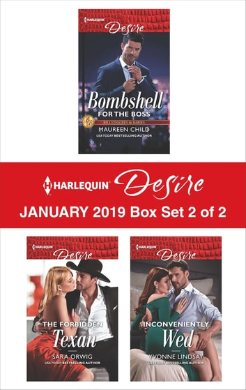 Harlequin Desire January 2019 - Box Set 2 of 2 - An Anthology ebook by Maureen Child,Sara Orwig,Yvonne Lindsay