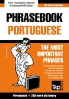 English-Portuguese phrasebook and 250-word mini dictionary ebook by Andrey Taranov