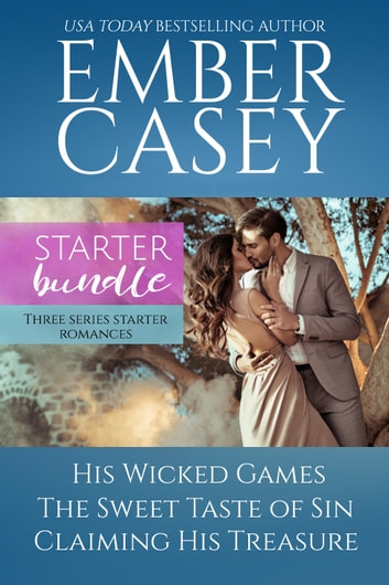 Ember Casey Starter Bundle - Three Series Starter Romances ebook by Ember Casey