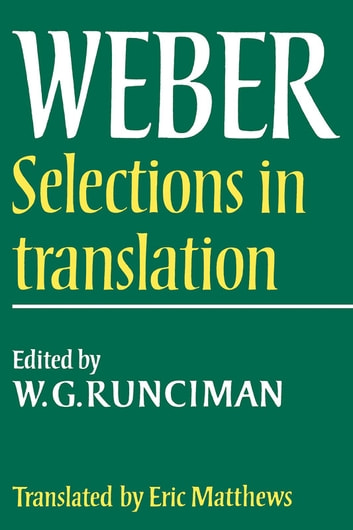 Max weber selections in translation ebook by max weber max weber selections in translation ebook by max weber fandeluxe Gallery