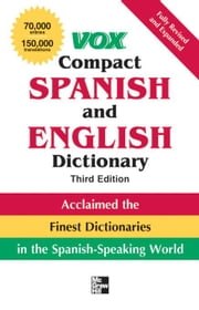 Vox Compact Spanish and English Dictionary, Third Edition (Paperback) ebook by Vox