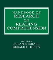 Handbook of Research on Reading Comprehension ebook by Susan E. Israel,Gerald G. Duffy