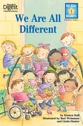 We Are All Different ebook by Kirsten Hall