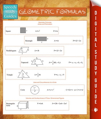 Geometric Formulas (Speedy Study Guides) ebook by Speedy Publishing