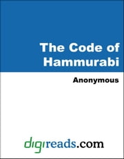 The Code of Hammurabi ebook by Anonymous