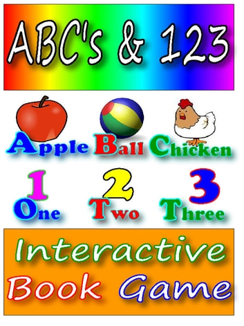 ABC Books for Kids:ABC's & 123 An Interactive book game ebook by Silvia Patt