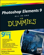 Photoshop Elements 9 All-in-One For Dummies ebook by Barbara Obermeier,Ted Padova