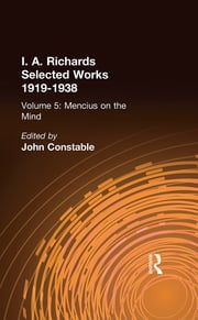 Mencius On The Mind - Experiments in Multiple Definition ebook by John Constable