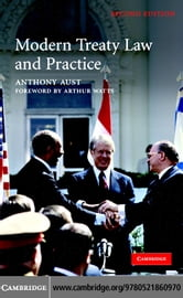 Modern Treaty Law and Practice ebook by Aust,Anthony