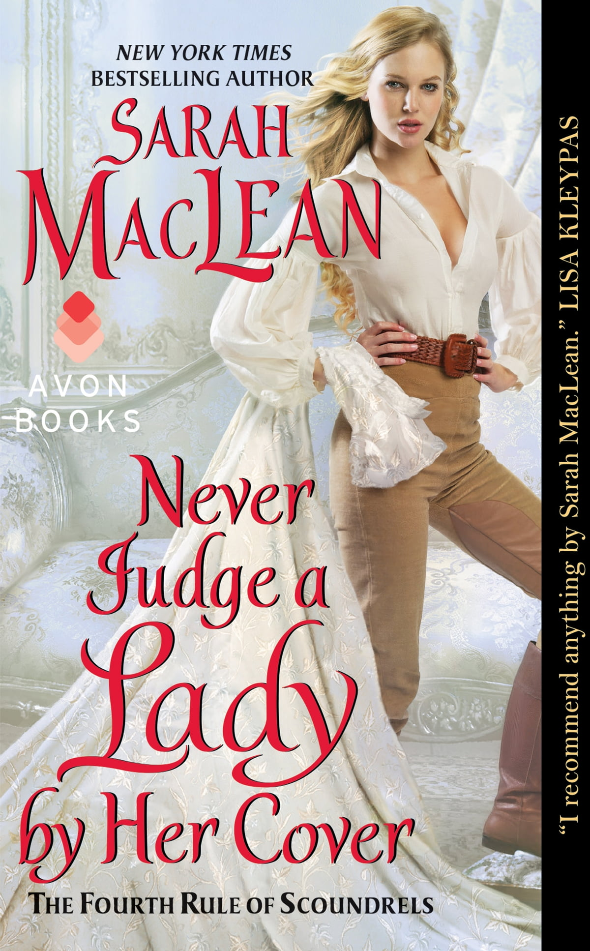 Never Judge A Lady By Her Cover  The Fourth Rule Of Scoundrels Ebook By  Sarah