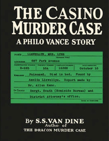 The Casino Murder Case ebook by S. S. Van Dine