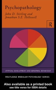 Psychopathology ebook by Stirling, John D.