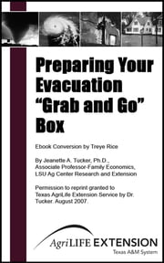 "Preparing Your Evacuation ""Grab and Go"" Box ebook by Texas A&M AgriLife Extension Service"