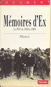 Mémoires d'ex ebook by Mosco