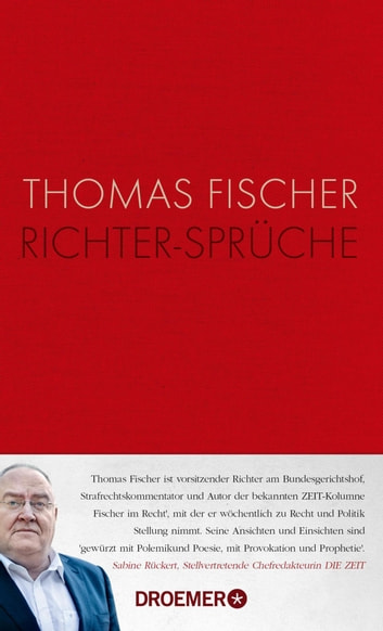 Richter-Sprüche eBook by Thomas Fischer