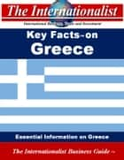 Key Facts on Greece - Essential Information on Greece ebook by Patrick W. Nee