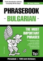 English-Bulgarian phrasebook and 1500-word dictionary ebook by Andrey Taranov