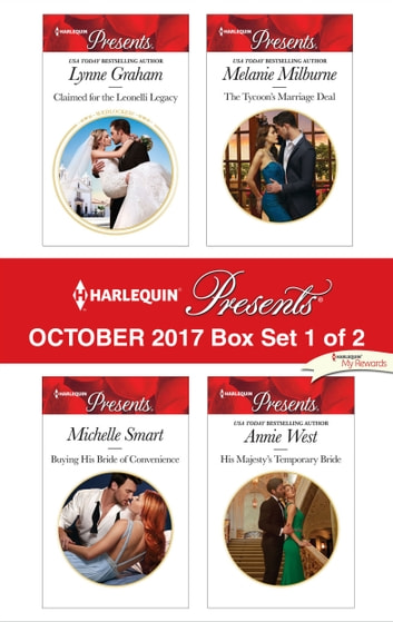 Harlequin Presents October 2017 - Box Set 1 of 2 - An Anthology 電子書籍 by Lynne Graham,Michelle Smart,Melanie Milburne,Annie West