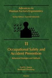 Occupational Safety and Accident Prevention: Behavioral Strategies and Methods ebook by Hoyos, C.G.