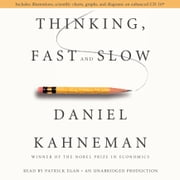 Thinking, Fast and Slow audiobook by Daniel Kahneman