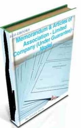 Memorandum & Articles of Association - Limited Company (Under Guarantee) - Model ebook by Gordon Owen