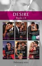 Desire Box Set Feb 2021/Back in the Texan's Bed/Scandalising the CEO/One Night with Cinderella/Seducing His Secret Wife/The Heir/Twice t ebook by Joanne Rock, Yvonne Lindsay, Silver James,...