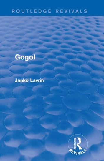 Gogol ebook by Janko Lavrin