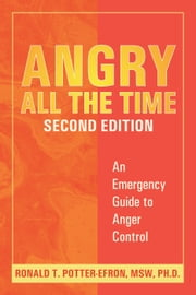 Angry All the Time - An Emergency Guide to Anger Control ebook by Ronald Potter-Efron, MSW, PhD