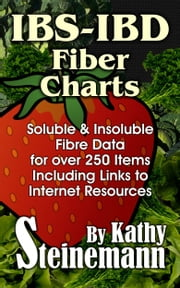 IBS-IBD Fiber Charts: Soluble & Insoluble Fibre Data for Over 250 Items, Including Links to Internet Resources ebook by Kathy Steinemann