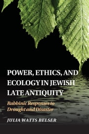 Power, Ethics, and Ecology in Jewish Late Antiquity - Rabbinic Responses to Drought and Disaster ebook by Julia Watts Belser