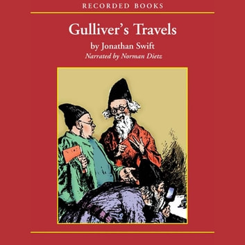 Gulliver's Travels audiobook by Jonathan Swift