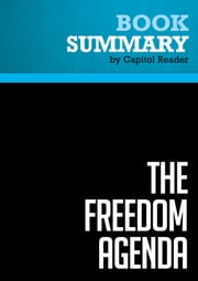 Summary of The Freedom Agenda: Why a Balanced Budget Amendment is Necessary to Restore Constitutional Government - MIKE LEE ebook by Capitol Reader