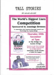 TALL STORIES - AT THE WORLDS BEST LIAR COMPETITION ebook by ADAM ADAMS