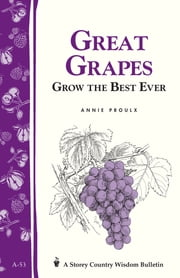 Great Grapes - Grow the Best Ever / Storey's Country Wisdom Bulletin A-53 ebook by Annie Proulx