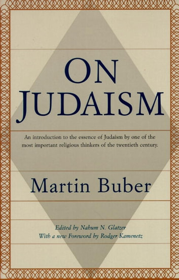 On Judaism ebook by Martin Buber