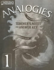 Analogies 1 Teacher's Notes and Answer Key ebook by Hegarty, Carol