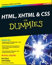 HTML, XHTML and CSS For Dummies ebook by Ed Tittel,Jeff Noble