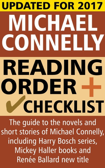 Michael Connelly Reading Order and Checklist ebook by Crime LineUp