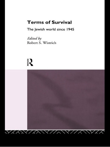 Terms of Survival - The Jewish World Since 1945 ebook by