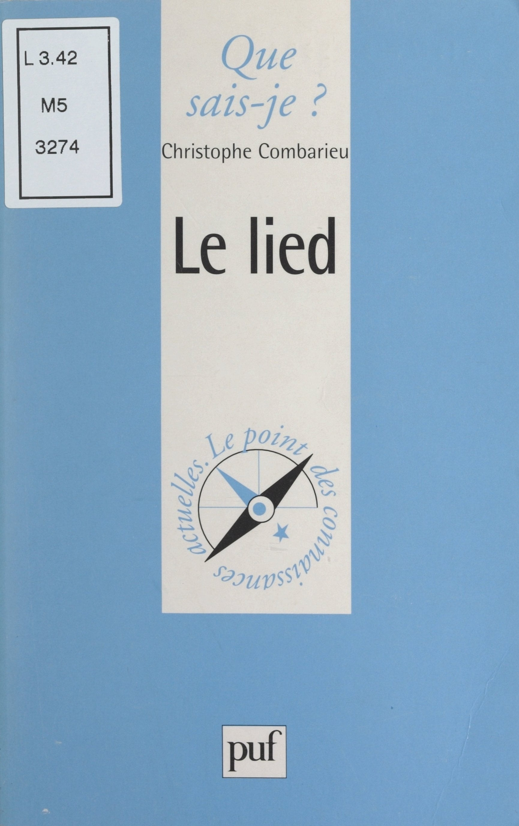 Unknown author: Le lied PDF Book and Other Best eBooks