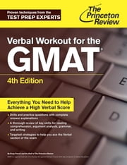 Verbal Workout for the GMAT, 4th Edition  ebook by Princeton Review