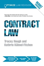 Optimize Contract Law ebook by Kathrin Kuhnel-Fitchen,Tracey Hough