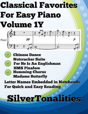 Classical Favorites for Easy Piano Volume 1 Y