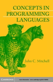 Concepts in Programming Languages ebook by Mitchell, John C.